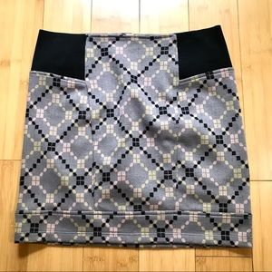 Free People Geometric Mimi Skirt Small Petite